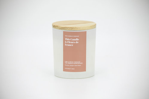 This Candle is Fleurs de France - Jasmine, Juniper, Rain Water