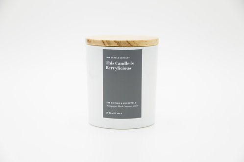 This Candle is Berrylicious - Champagne, Black Currant, Amber