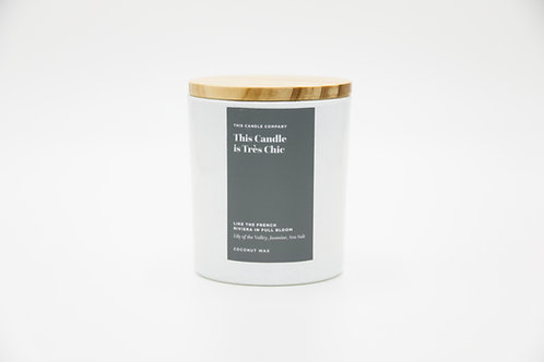 This Candle is Très Chic - Lily of the Valley, Jasmine, Sea Salt