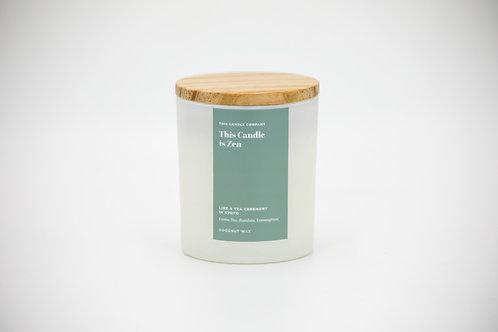 This Candle is Zen - Green Tea, Bamboo, Lemongrass