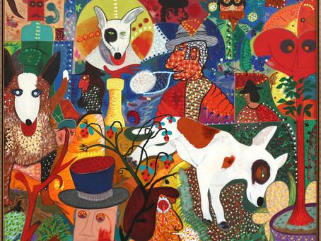 'Roy De Forest: Let Sleeping Dogs Lie' at Brian Gross Fine Art