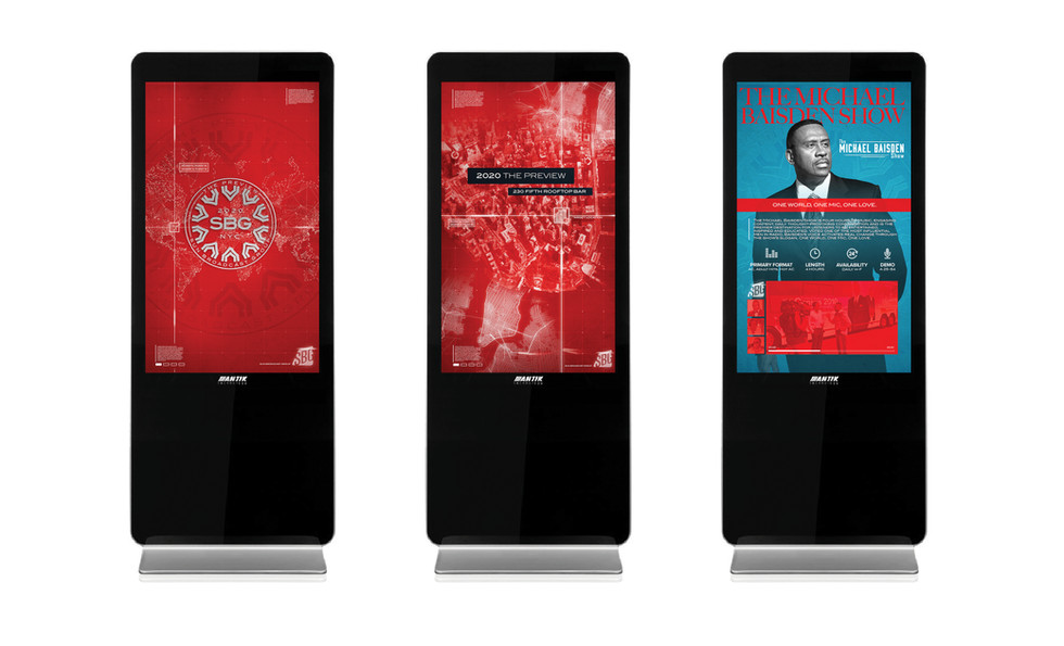 2020 The Preview - Digital Interactive Screens