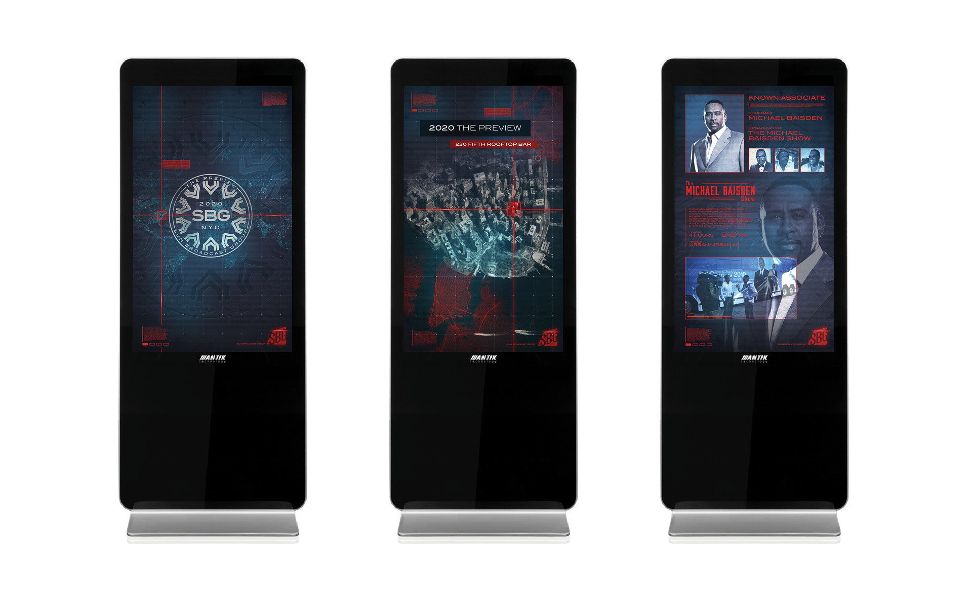 2020 The Preview - Digital Interactive Screens V.2