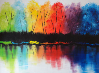 Acrylic paint 101cmx80cm