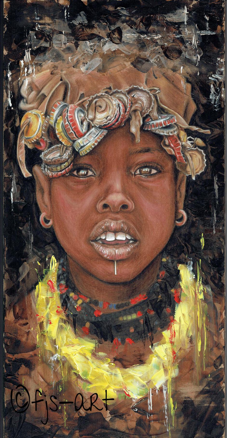 African girl 2