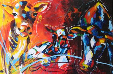 101cmx150cm Acrylic paint