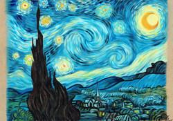 Starry night (Vincent van Gogh)