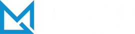 The Marti Law Group company logo for the website header of the Contact page.