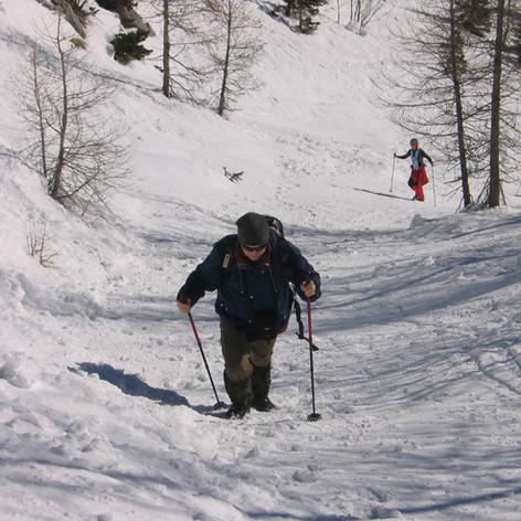December - marec 2020 - Zimske radosti na Pokljuki
