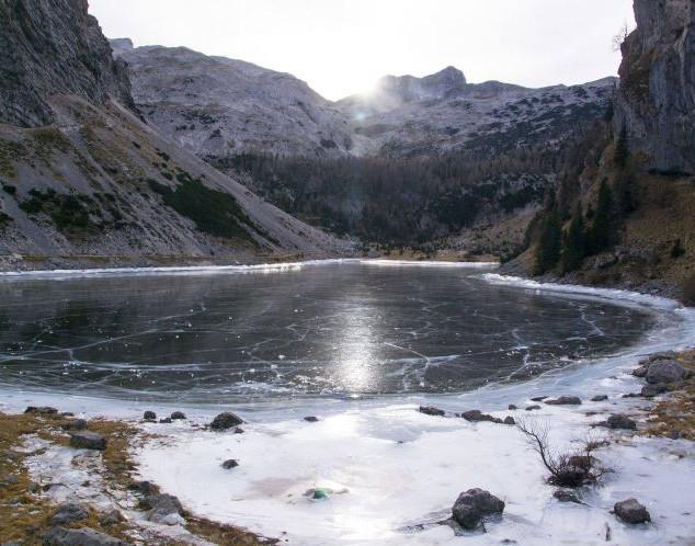 Silvestrovanje na Krnskem jezeru