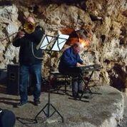 Koncert v skriti kraški jami