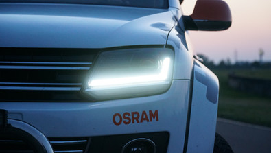 VW Amarok Full Led Scheinwerfer Osram