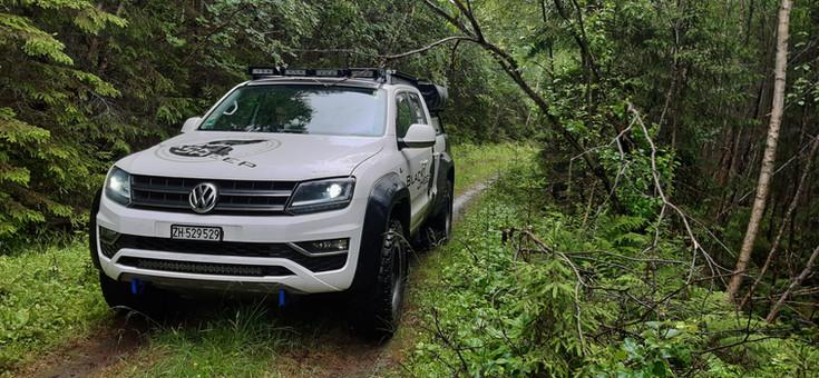 VW Amarok Full Led Scheinwerfer Osram