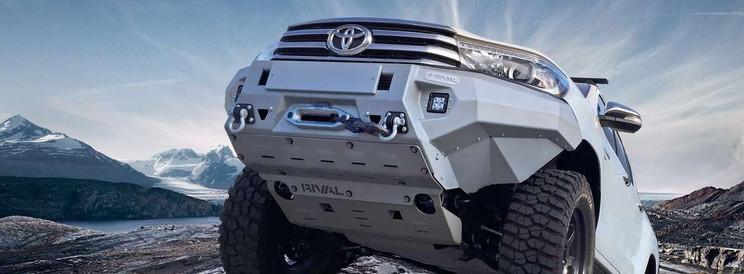 Rival Aluminium-Stossstange Toyota Hilux