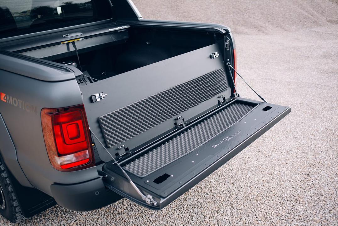 Heckklappen-Umbausatz VW Amarok