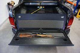Heckklappen-Umbau VW Amarok Hunter-Edition