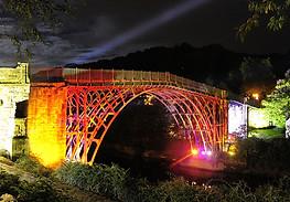 Telford Ironbridge at Night