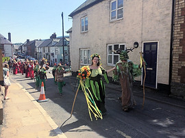 Clun Green Man (May)