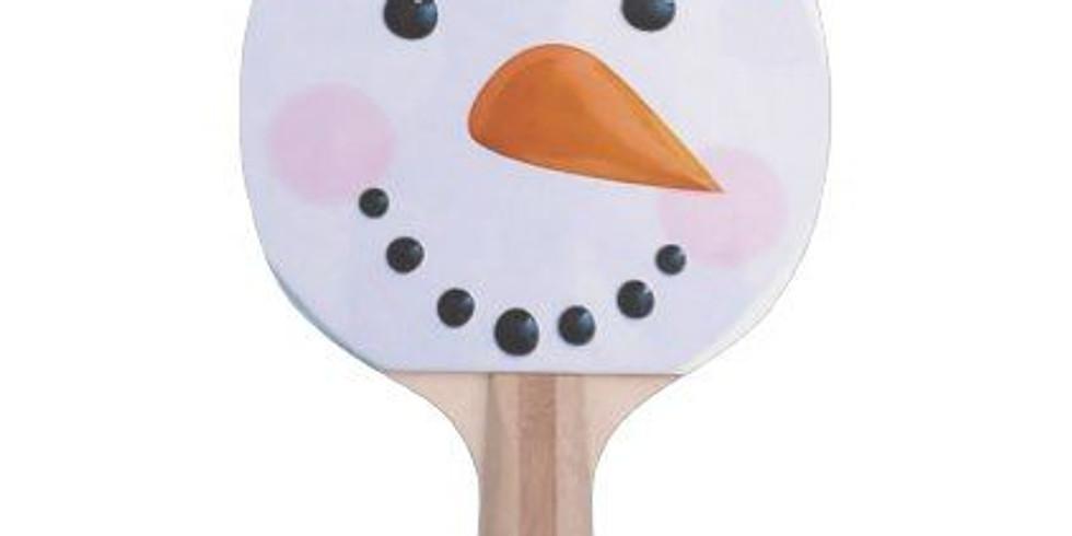 Holiday Kids Ping Pong