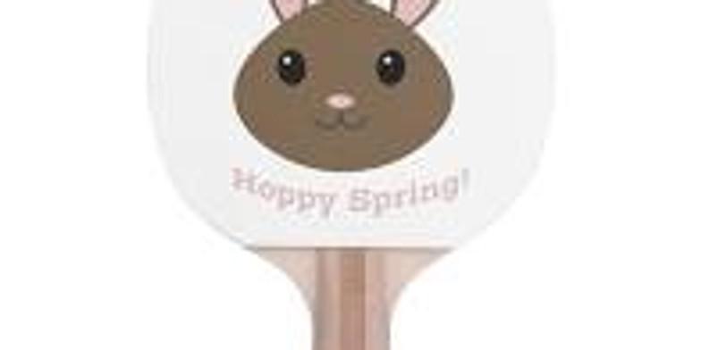Spring Break Kids Ping Pong