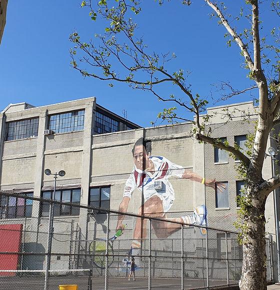 Michael Chang Mural