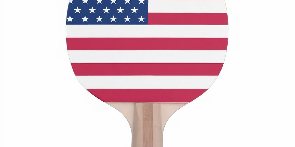 Presidents Day Kids Ping Pong
