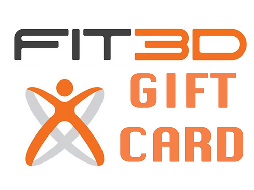 FIT3D Scan Gift Card
