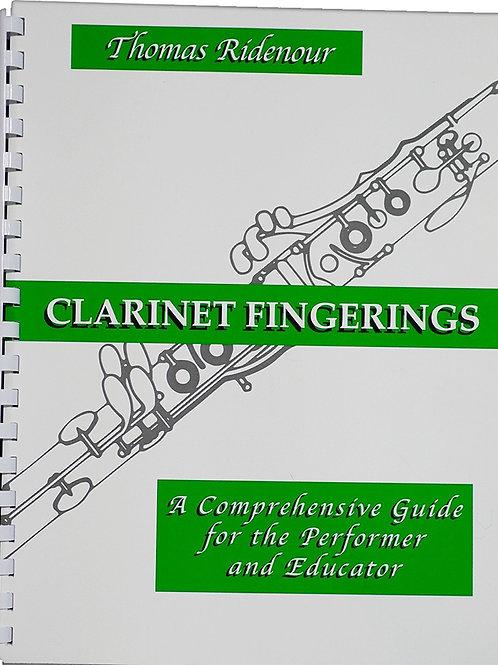 Clarinet Fingering Book