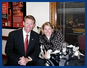 Dr. Diane Dike and Tony Perkins