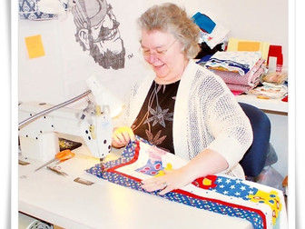 Volunteer-based quilters group serves community with donated fabric