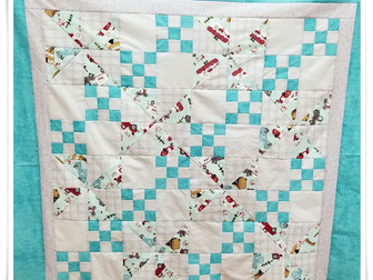 A New Quilter's Baby's Quilt