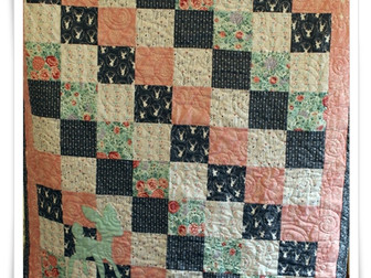 Baby Quilt for the First Grandchild