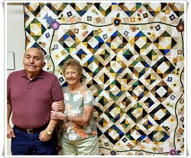 Ernie Scott and Hazel Griffin