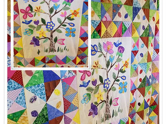 Blooming Tree Quilt