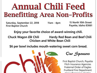 Annual Chili Feed