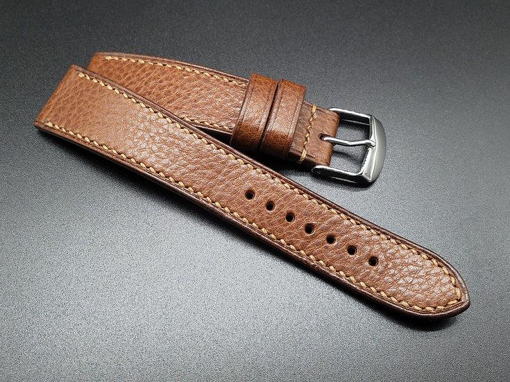 BC Minerva Box(Walnut) Leather Watch Strap