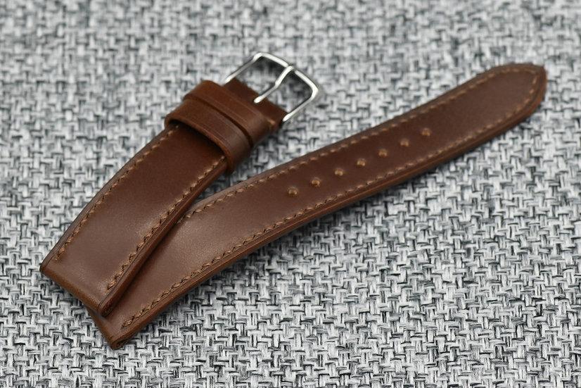 Shell Cordovan(Rocado) - Brown Leather Watch Strap