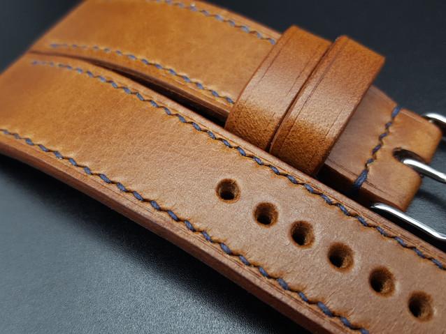 Whiskey Walpier Buttero Full Stitch 10spi slanted Navy Blue thread