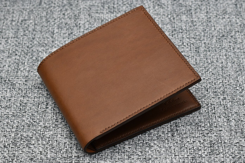 9-pocket Wallet(Walnut Minerva Leather)