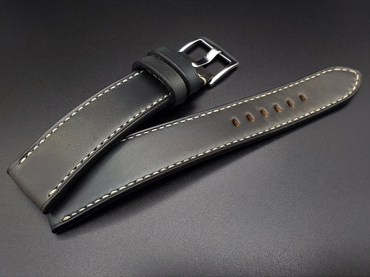 Horween Chromexcel(Slate Green) Leather Watch Strap