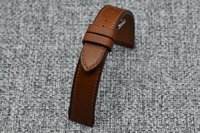 Haas Barenia(Gold) Leather Watch Strap