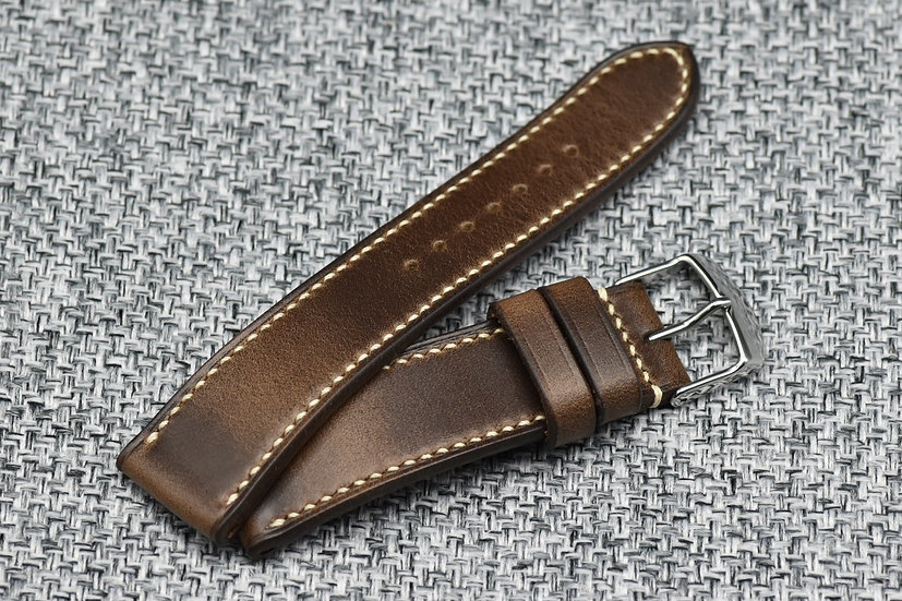 Horween Chromexcel(Natural) Leather Watch Strap