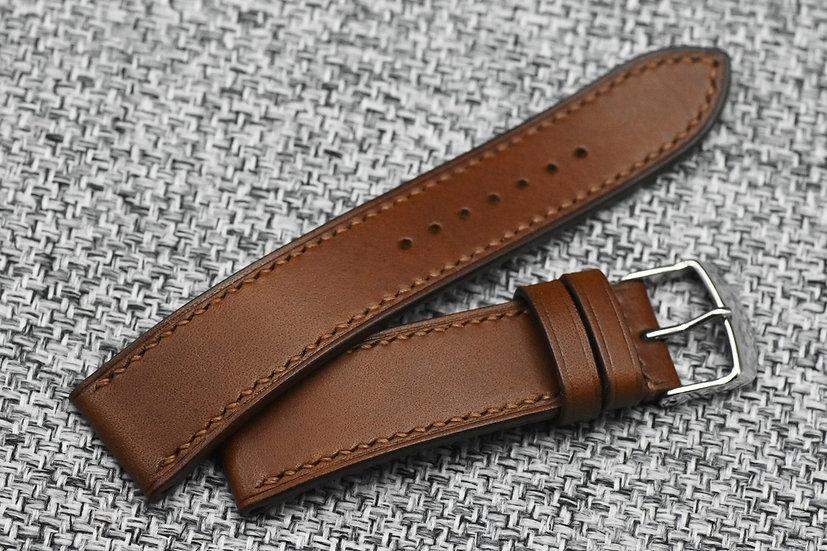 BC Minerva(Walnut) Leather Watch Strap