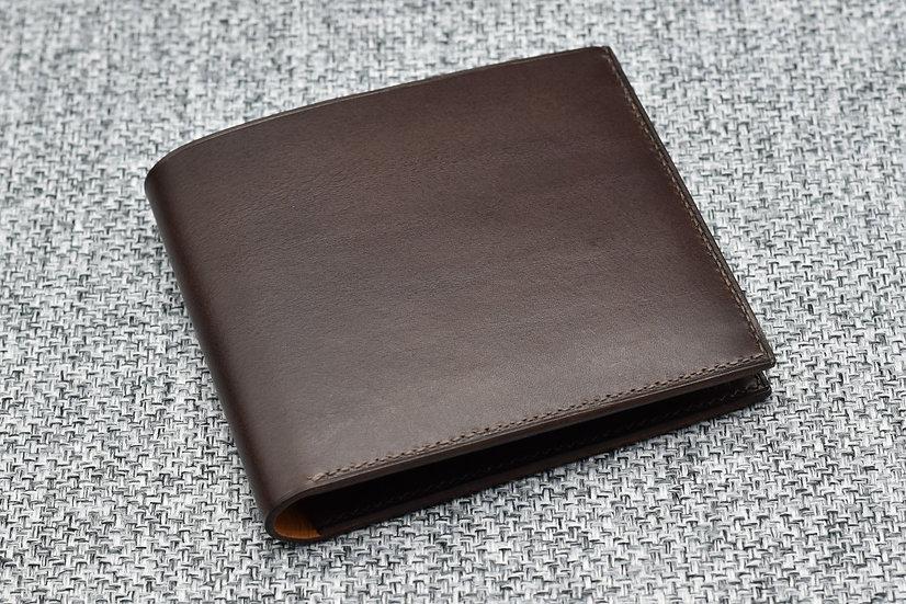11-pocket Wallet(Dark Brown Buttero Leather)