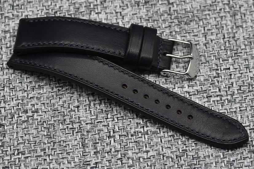 Wickett & Craig Harness(Navy Blue) Leather Watch Strap
