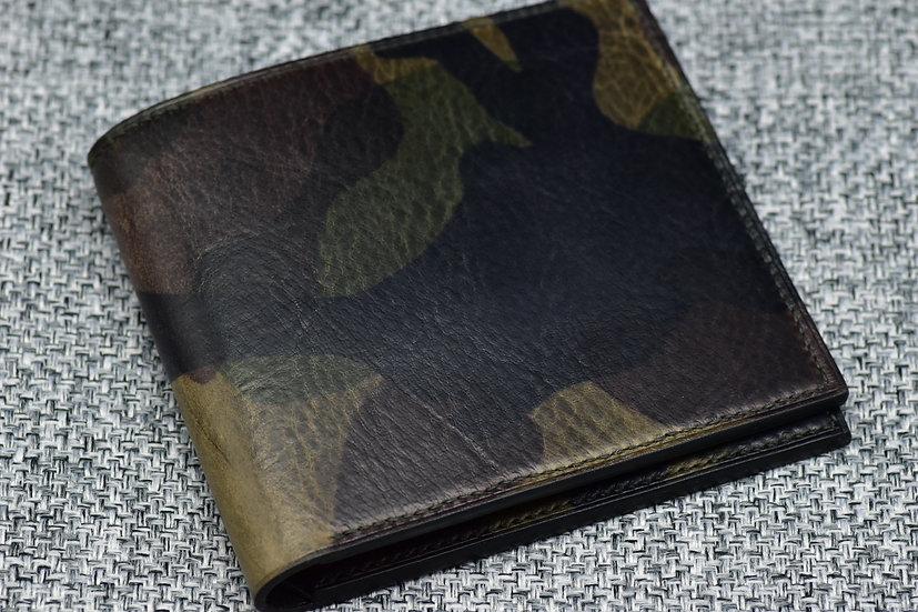 9-pocket Wallet(La Perla Azzurra Camo Leather)