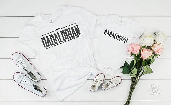 Dadalorian & Babalorian - Father & Child Set