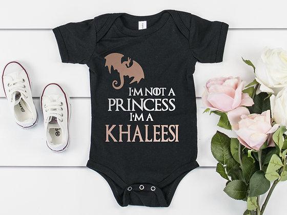 Game Of Thrones Inspired Khaleesi Baby Vest
