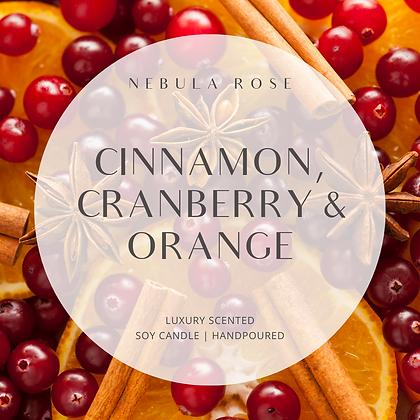 Cinnamon, Cranberry & Orange