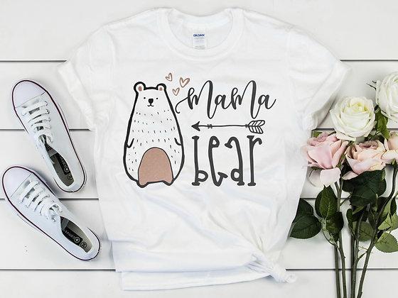 Mama Bear Adult T-Shirt